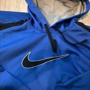 Blue NIKE hoodie/ Men's Large